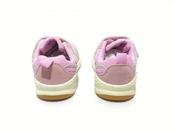 Детские кроссовки Супрем розовые
