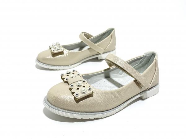 Туфли для девочек Микаса перламутр