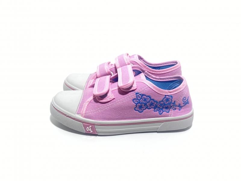 Кеды для девочек розовые