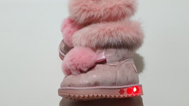 Угги детские Нежность (розовые)