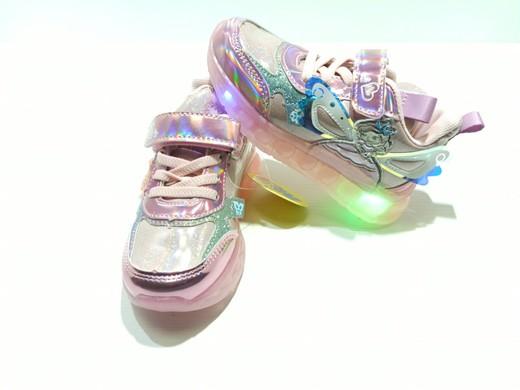 Кроссовки для девочек светодиоды Сверкающая фея